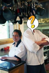 Genny and Chef-Whats-His Name
